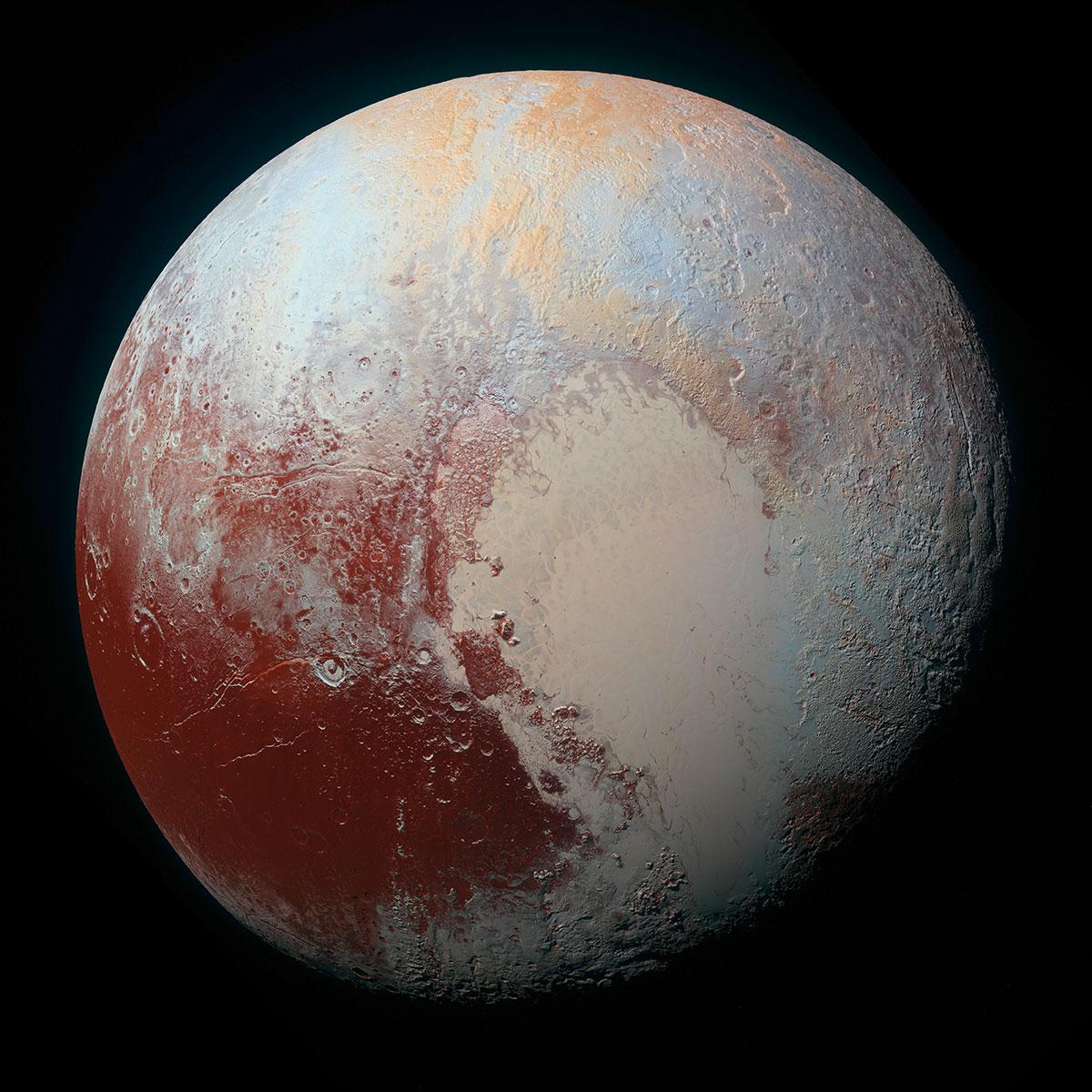 0d1f71f06bc85 Voilà enfin le visage complet de Pluton en couleurs et en haute résolution  ! Cliquez ici pour l agrandir