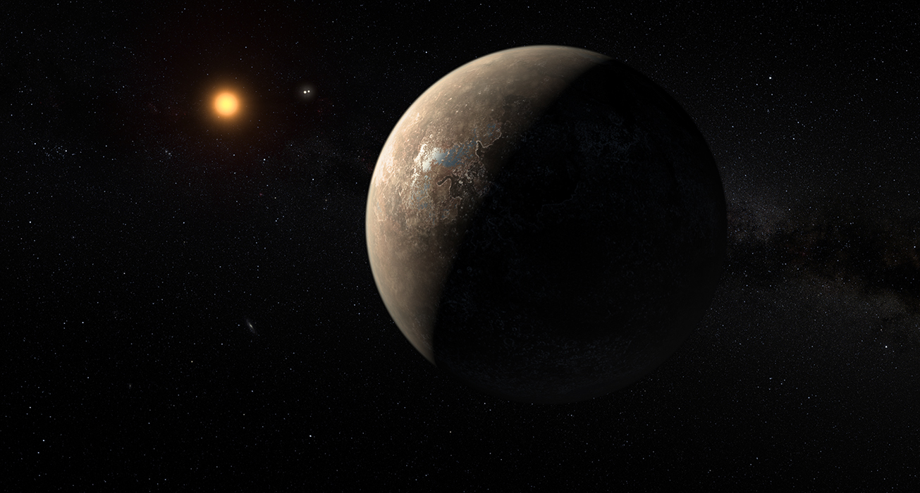 Découverte : une planète autour de l'étoile la plus proche