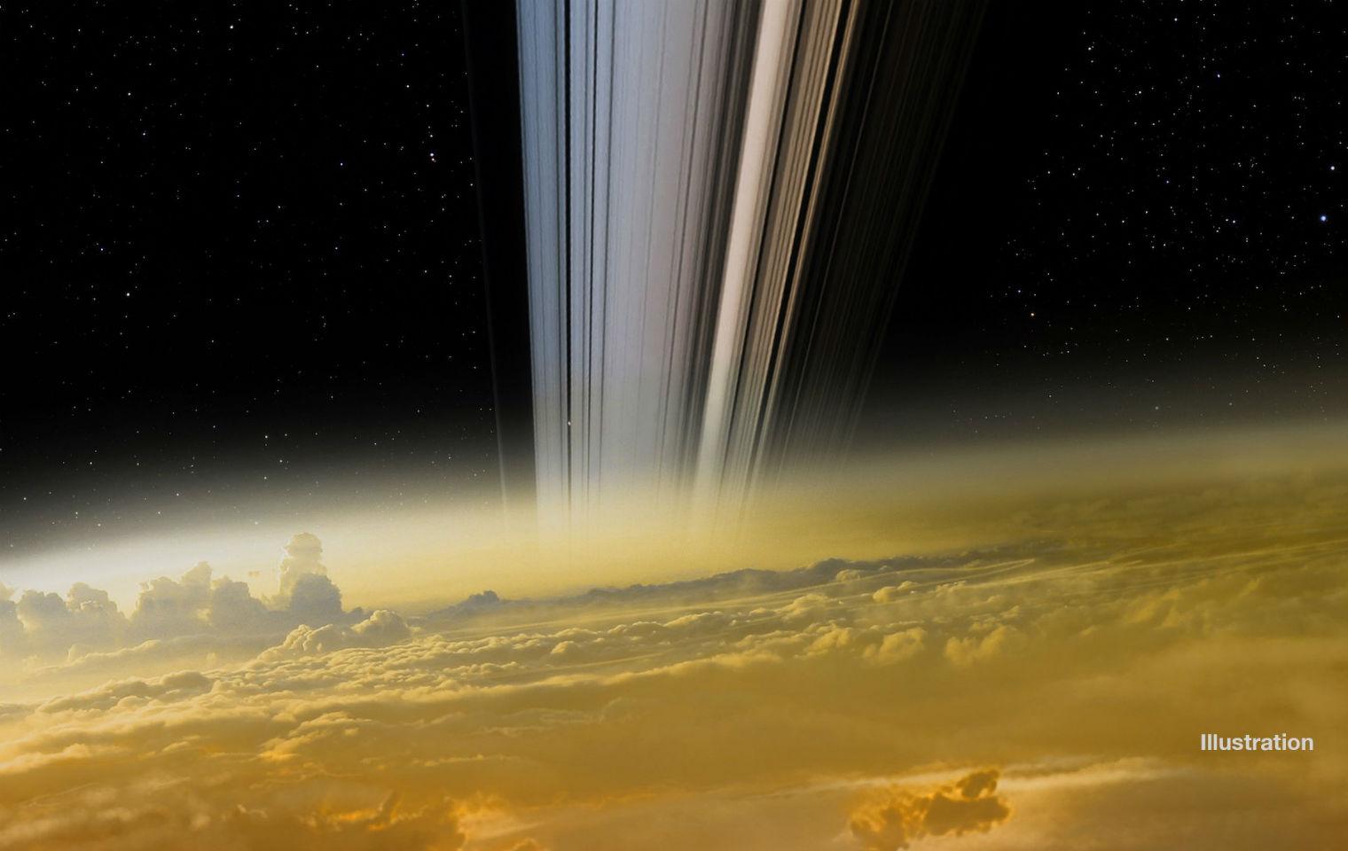 фотографии кассини на сатурне отличие
