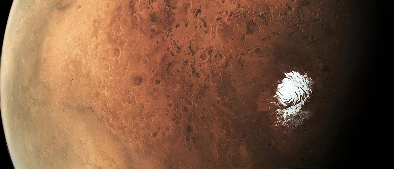 Un lac sous la surface de Mars, ou de la « slush » ?