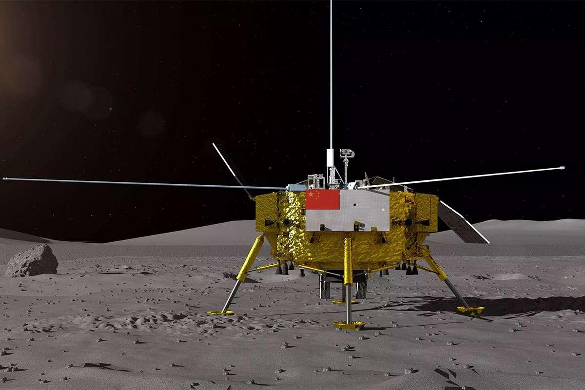 Chang'e 4 sur le bon chemin pour la face cachée de la Lune