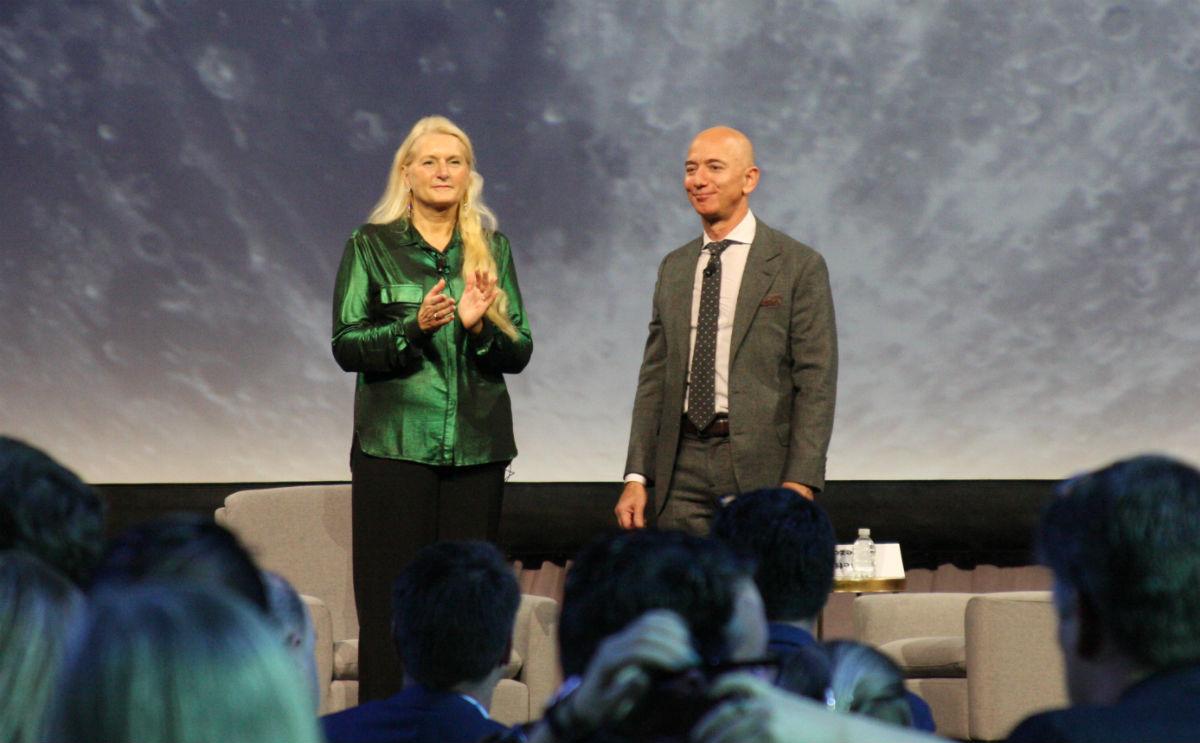 Jeff Bezos annonce la création d'une « équipe nationale » pour construire le module lunaire américain