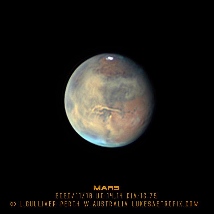 Une nouvelle tempête globale pour la planète Mars ?
