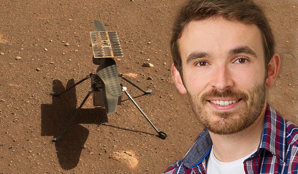 Jeff Delaune:«Ingenuity est prêt à décoller sur Mars»