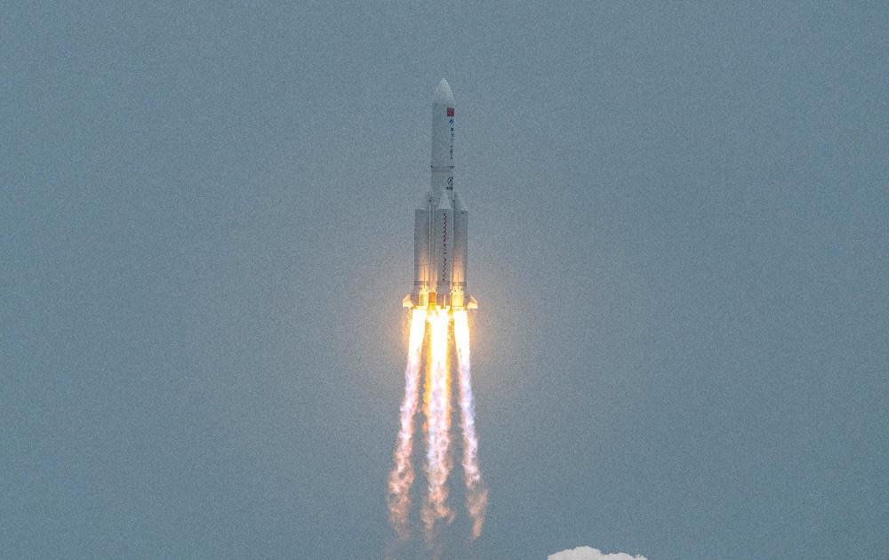 La Chine lance le premier module de sa grande station spatiale