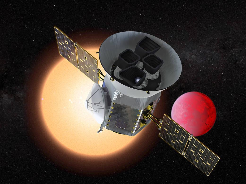 Premier bilan de TESS : des centaines d'exoplanètes en attente de confirmation