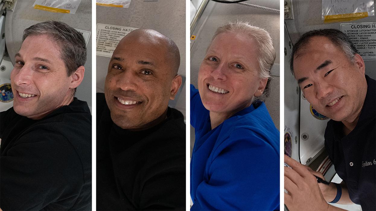 Le retour de l'équipage de Crew Dragon 1 reporté au 1er mai