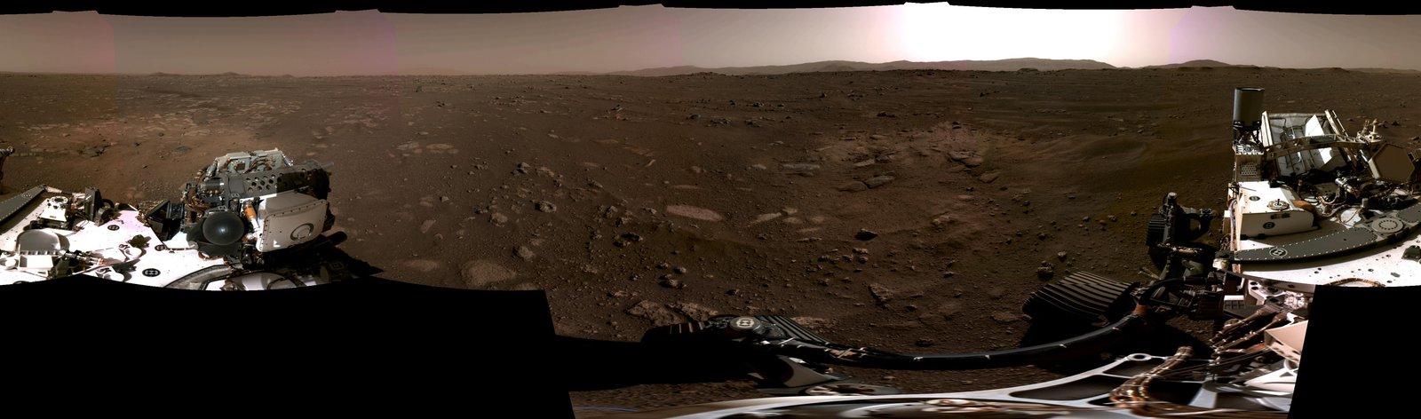 Perseverance dévoile un nouveau panorama martien