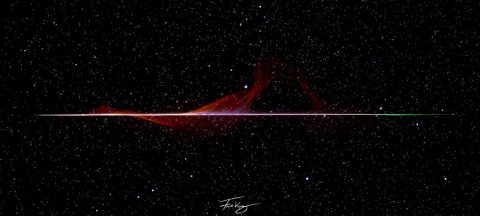 Surpris par un météore, un astrophotographe en tire un superbe cliché !
