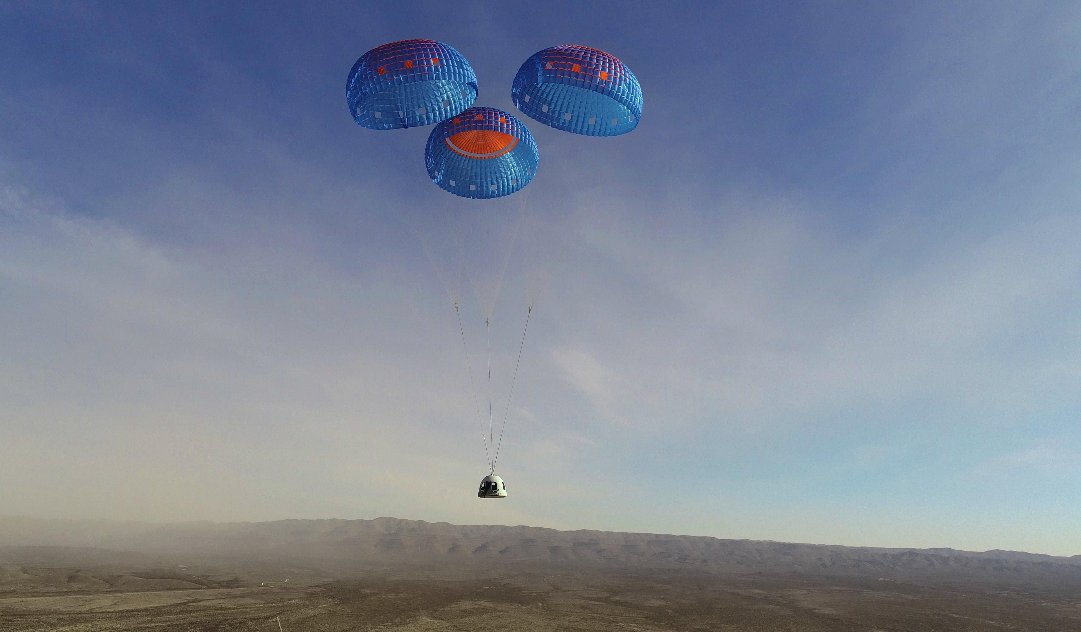 New Shepard fait un « saut de puce » qui la rapproche des vols habités