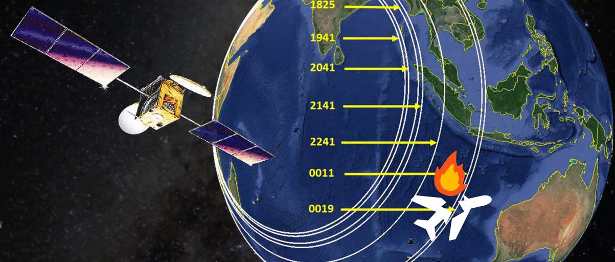 Grâce aux satellites on sait où chercher le Boeing MH370 de Malaysia Airlines disparu en 2014