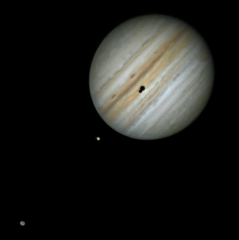 La plus belle éclipse de 2021 a eu lieu sur la planète Jupiter