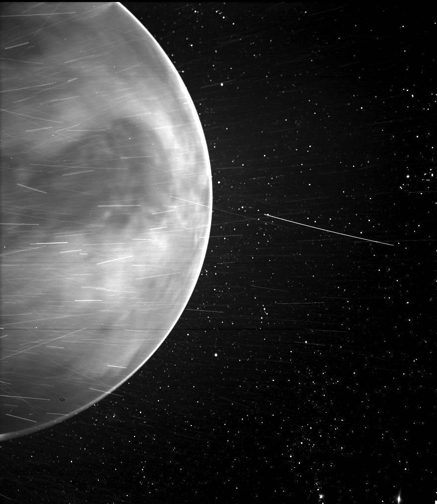La sonde Parker Solar Probe dévoile la surface de Vénus