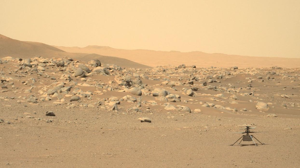 L'hélicoptère Ingenuity a-t-il survécu à la conjonction martienne?